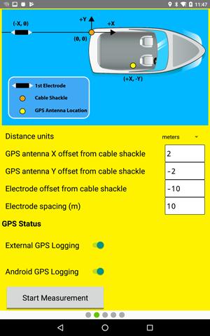 Step 12 - Input coordinate offsets